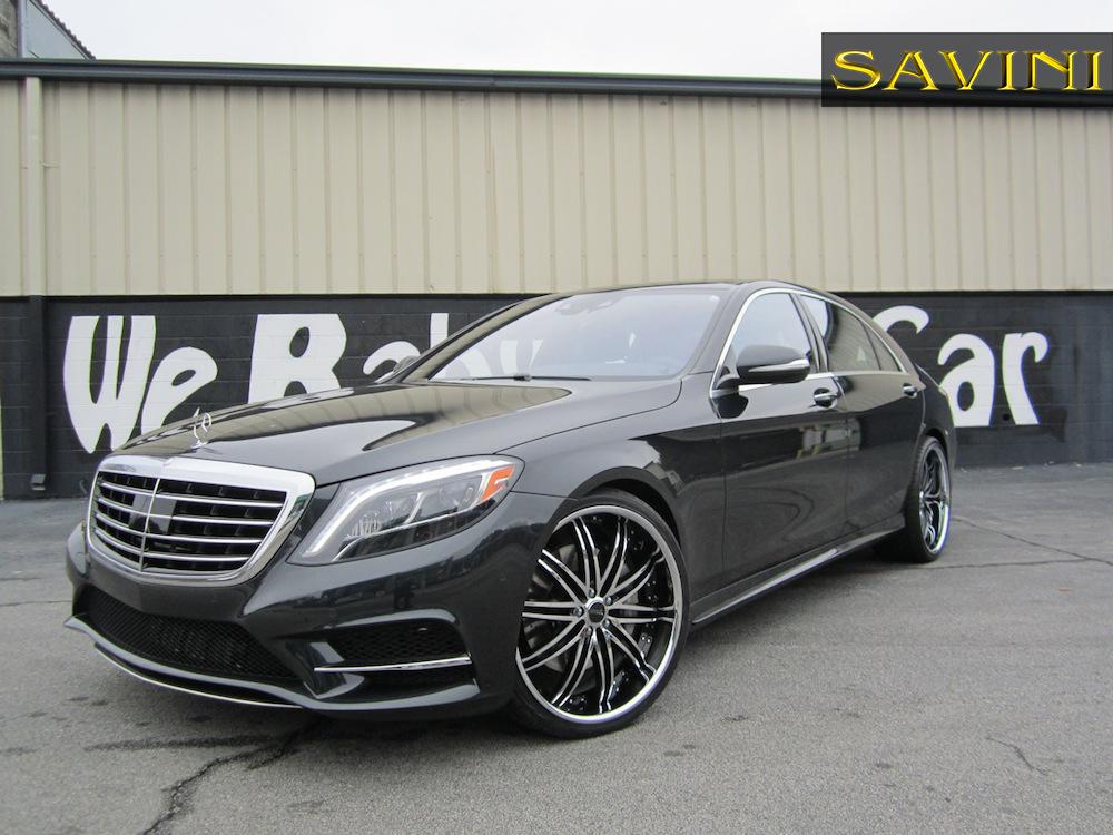 Mercedes Benz Of Anaheim >> 2014 Mercedes-Benz S550 | Savini Black di Forza BS4 | Butler Tire