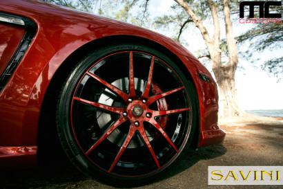 Красно-Porsche-Panamera-Савини-кованые-колеса-SV40-M-Red-Black-5.jpg