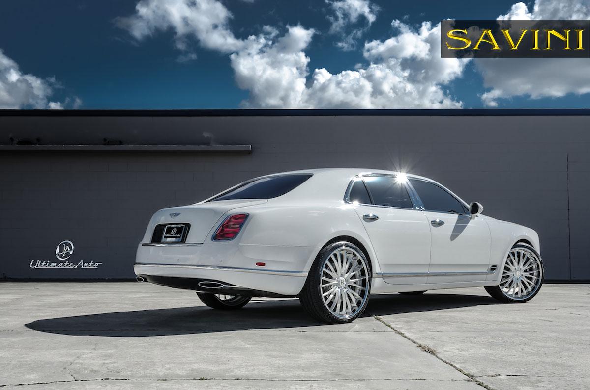 Mulsanne savini wheels white bentley mulsanne savini wheels bs5 white polish vanachro Images