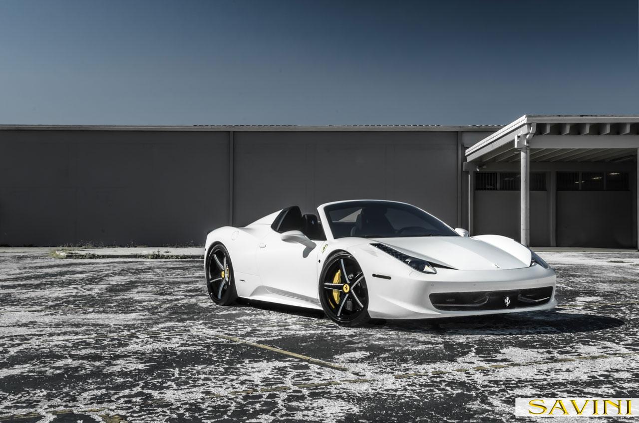 ferrari 458 white and black. whiteferrari458saviniforgedwheelssv44c ferrari 458 white and black