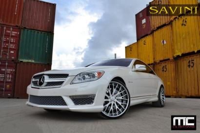Бело-Mercedes-Benz-CL63-Савини-кованые-колеса-SV42-C-вогнутая-бело-польско-2.jpg