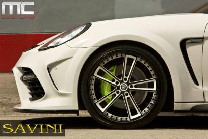Бело-Porsche-Mansory-Panamera-Савини-кованые-колеса-SV51-C-вогнутая-белый-черный-5.jpg