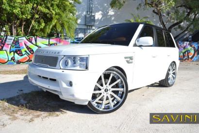 White-Range-Rover-Sport-Savini-Geschmiedete Räder-SV37-C-Konkav-Weiß-Schwarz-4.jpg