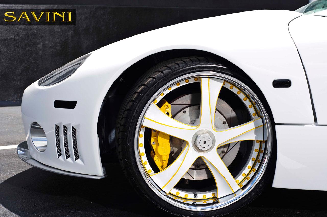 C8 Savini Wheels