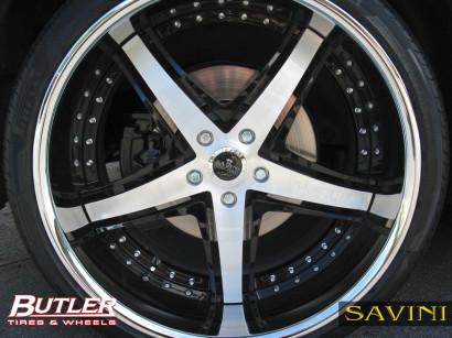 黒 -  bmw  -  x6  -  savini  - 鍛造ホイール -  sv8  -  s  - ブラシ - 黒 -  5.jpg
