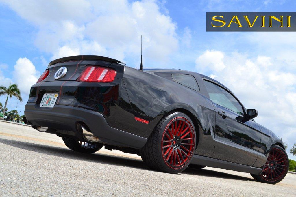 2018 Dodge Barracuda >> Mustang - Savini Wheels