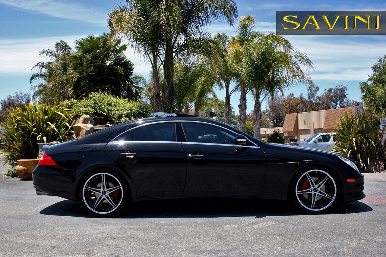 Cls savini wheels for Mercedes benz rims