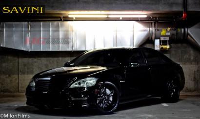 черно-Мерседес-s550-Савини-кованые-колеса-sv32-с-углеродное волокно черно-1.jpg