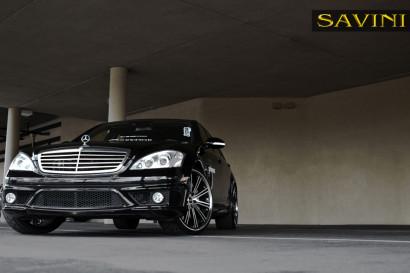 черно-Мерседес-s550-Савини-колеса-bm3-механическая обработка-черно-2.jpg