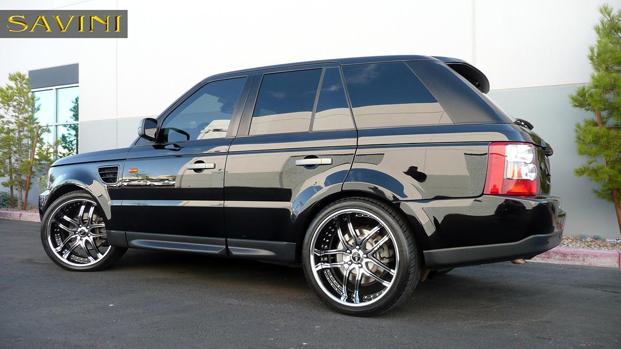 Range Rover Sport  Savini Wheels
