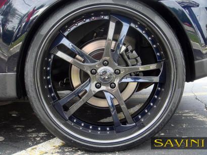 ブルーレンジローバースポーツサヴィニ鍛造ホイールsv32 sカーボンファイバーブルー4.jpg