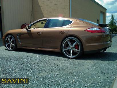 коричнево-порш-Panamera-Савини-кованые-колеса-sv29-с-щеткой-коричнево-2.jpg