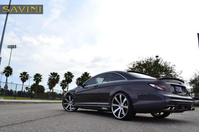 серый-металлик Mercedes-Benz-cl550-Савини-кованые-колеса-sv28-с-вогнутые щеткой-черно-6.jpg