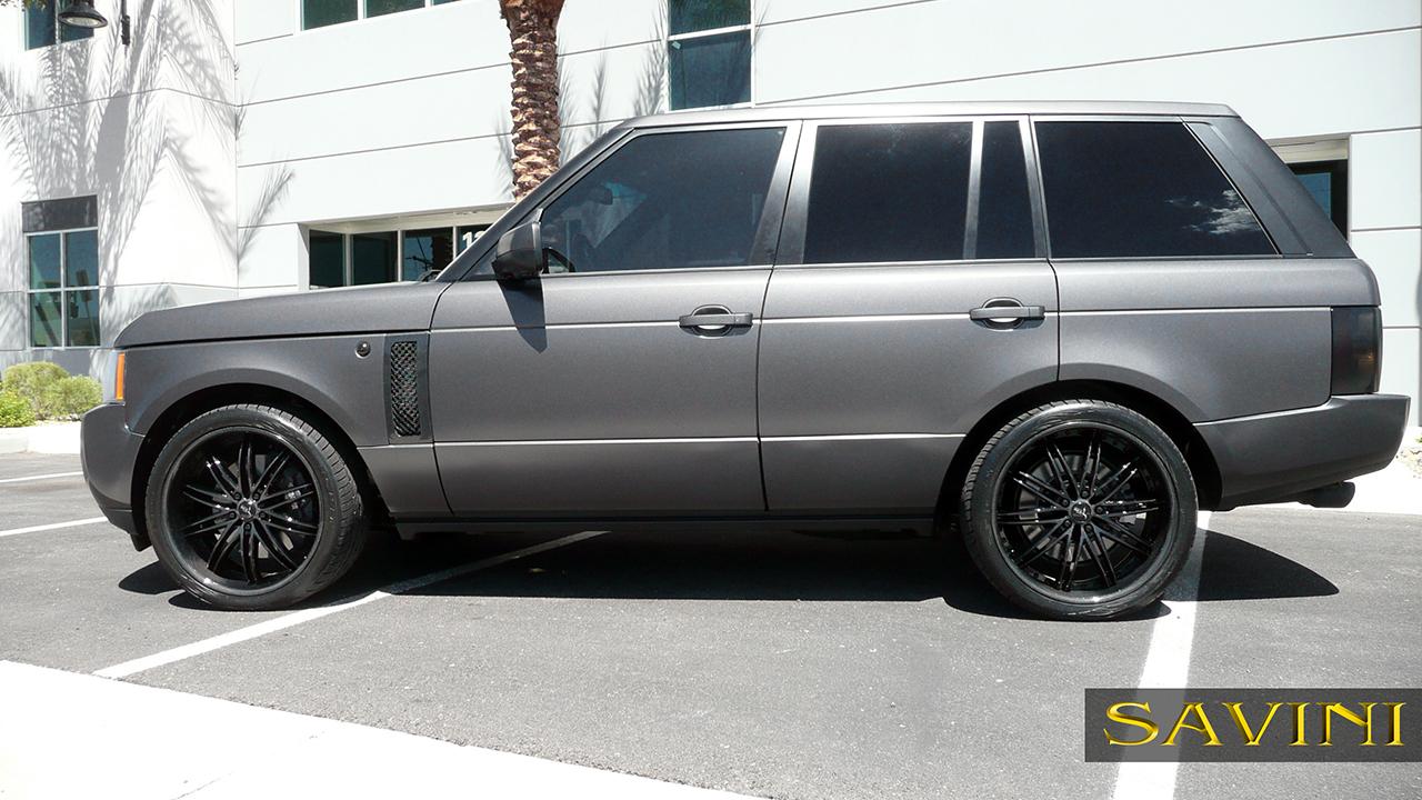 Range Rover Savini Wheels