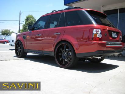 Rot-range-rover-sport-savini-geschmiedete Räder-sv28-s-schwarz-rot-2.jpg