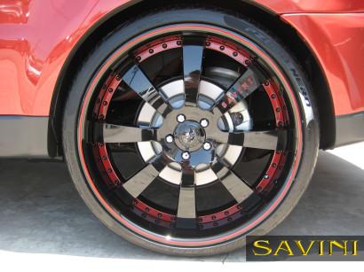 Rot-range-rover-sport-savini-geschmiedete Räder-sv28-s-schwarz-rot-4.jpg