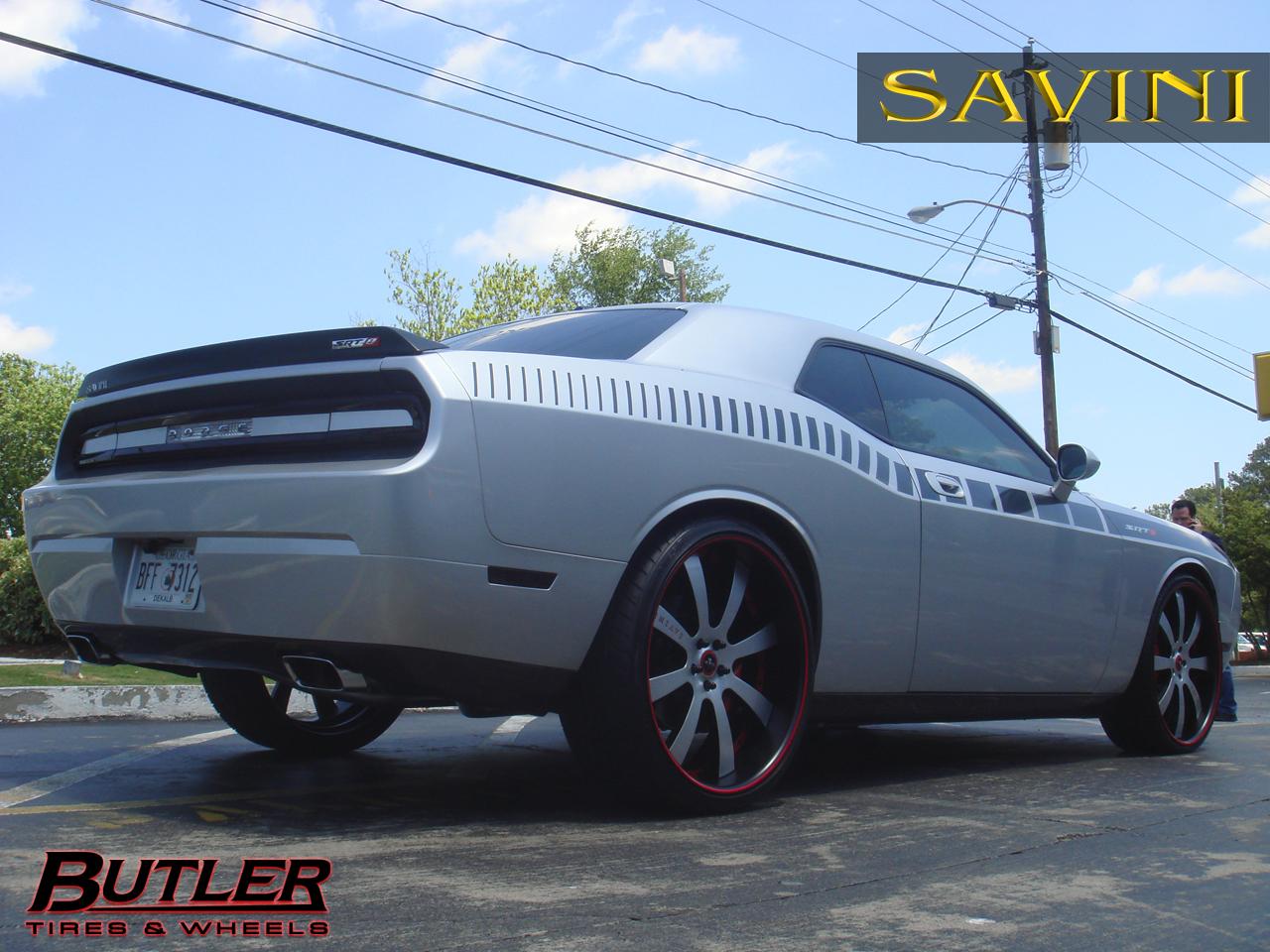 Challenger Savini Wheels