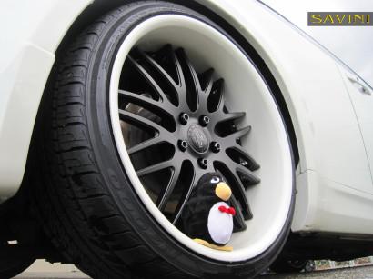 Weiß-infiniti-g35-savini-geschmiedete Räder-sv25-schwarz-weiß-5.jpg