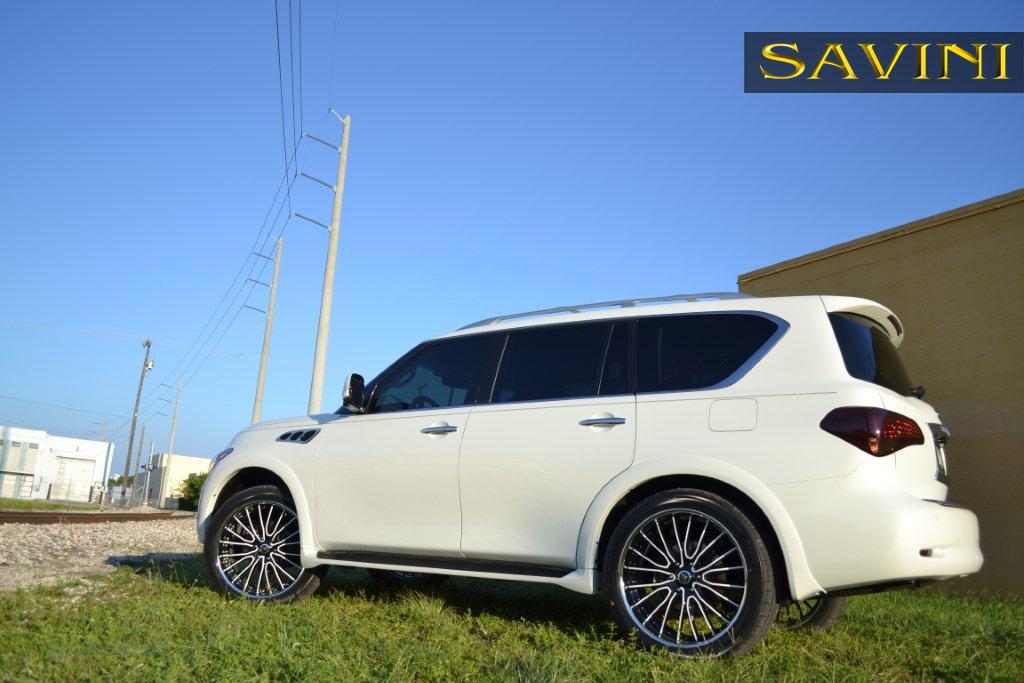 Qx56 Savini Wheels