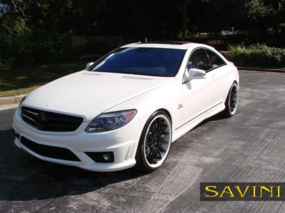 бело-Мерседес-cl550-Савини-кованые-колеса-sv34-белый-черный-4.jpg