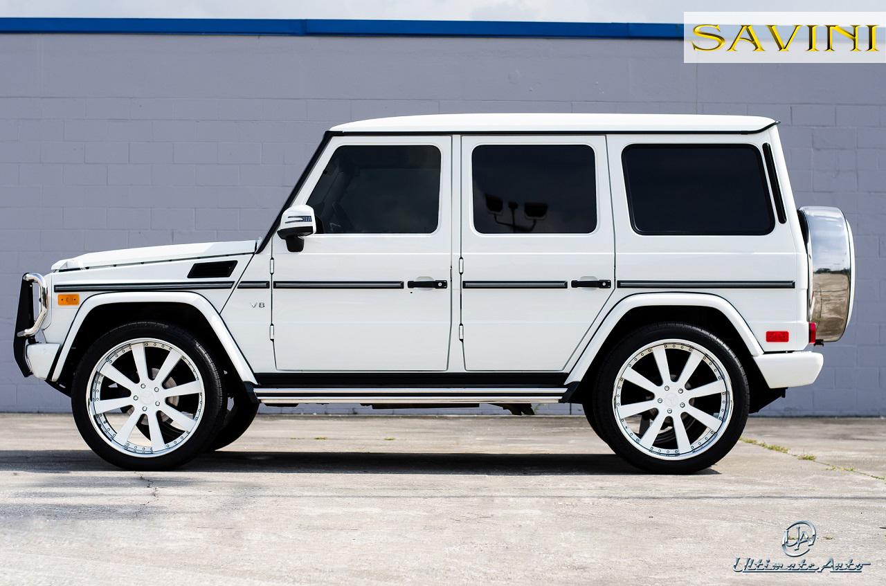 G Wagen Savini Wheels