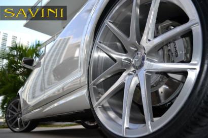 бело-Мерседес-s63-Савини-кованые-колеса-sv40-м-щетка-6.jpg
