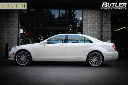 2014-бело-Mercedes-Benz-s550-Савини-колеса-черная-ди-Forza-bm9-щетка-серебро-1.jpg