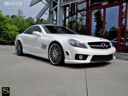 Butler-Tire-Renntech-Mercedes-Benz-SL63-Savini-Räder-Schwarz-di-Forza-BM4-Bearbeite-Schwarz-1.jpg