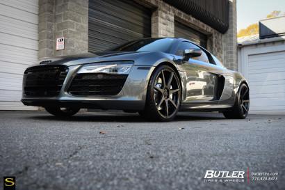 Grau-Audi-R8-Savini-Räder-Schwarz-Di-Forza-BM10-Matte-Schwarz-17.jpg