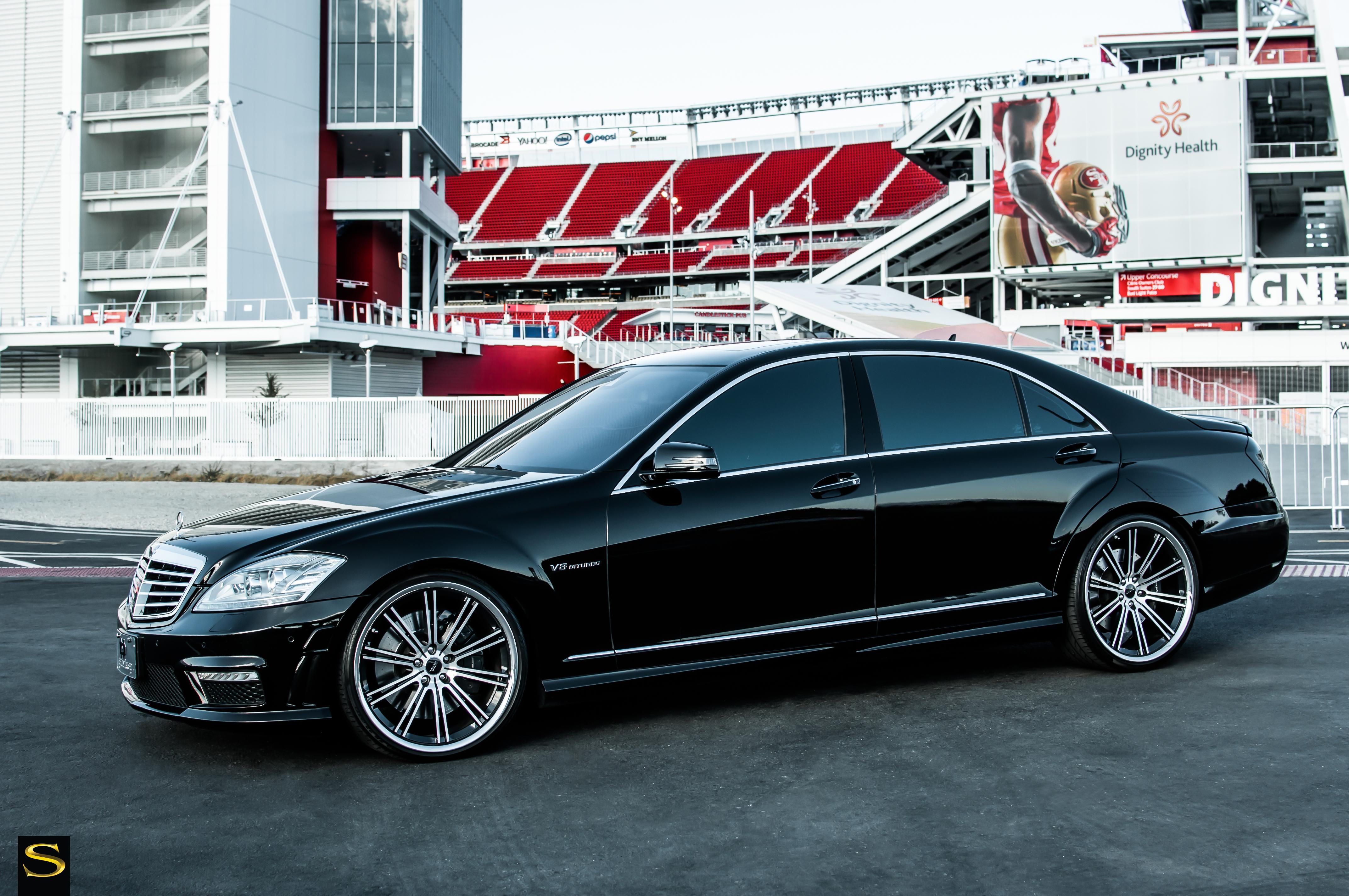 Black california wheels mercedes benz s63 saini wheels for Mercedes benz california