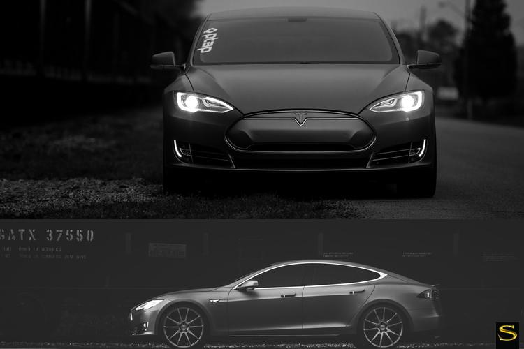 матово-металлические-тесла-модель-с-Савини-черно-ди-Forza-bm12-щетка-сине-4