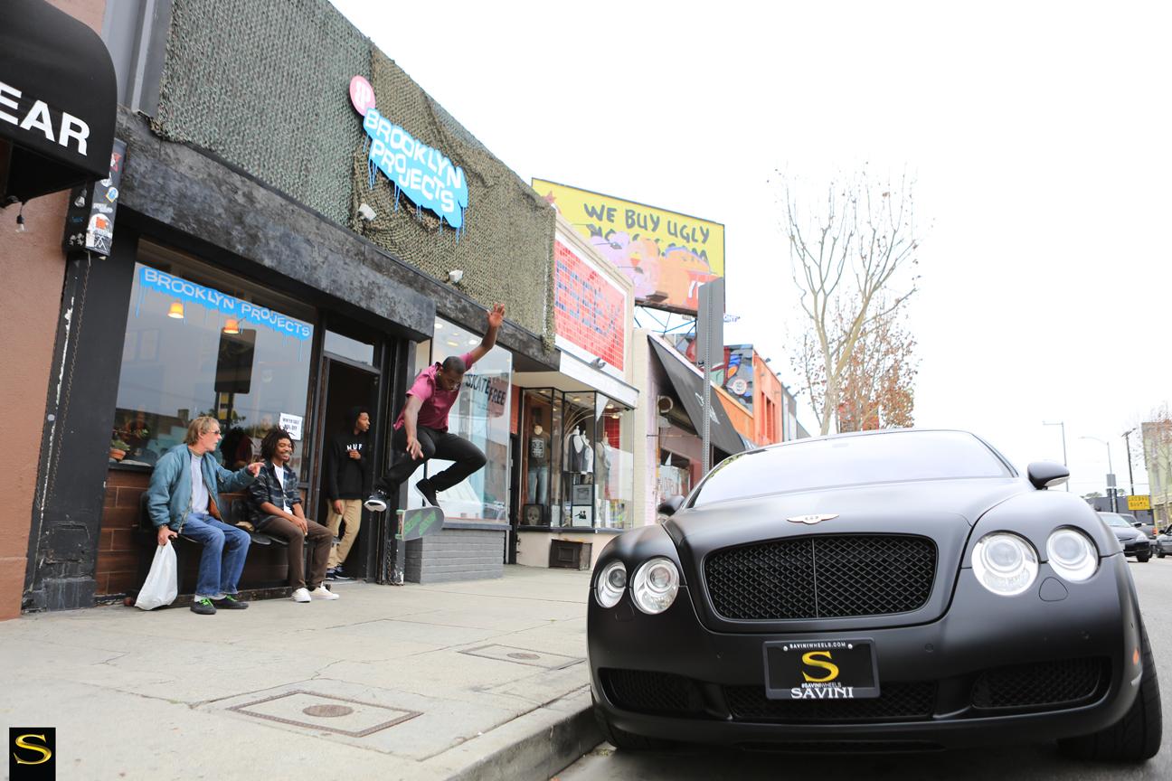 Савини-колеса-черный-ди-Forza-bm12-матово-черный-Bentley GT-theotis-beasley- (8)