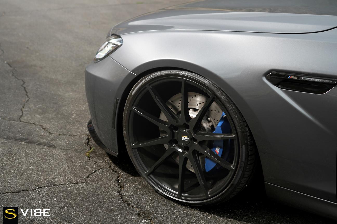 Савиньи-колеса-черный-ди-Forza-колеса-bm12-матовые черно-Bmw-m6-Vibe-автоспорте-3