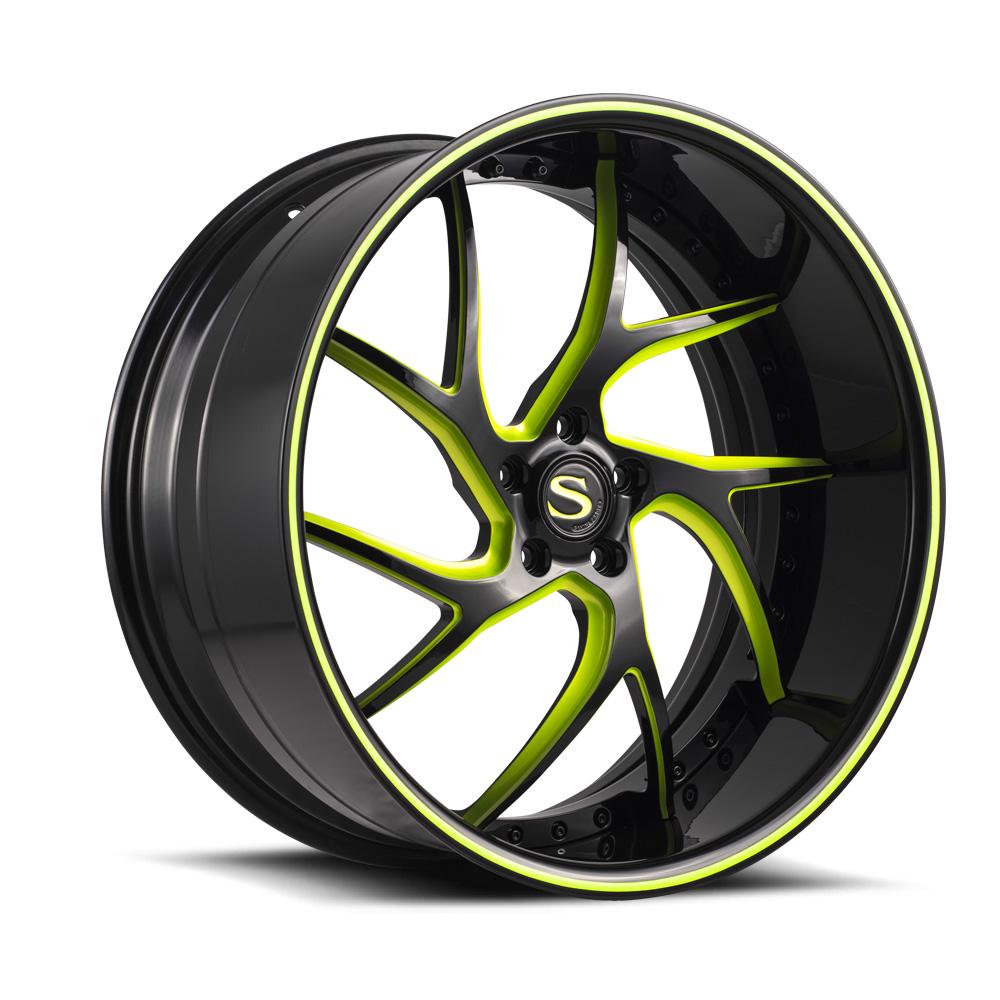 Savini-geschmiedet-sv67xlt-schwarz-grün