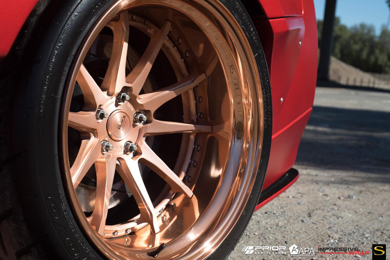 Black Di Forza Forged Bm12 Savini Wheels
