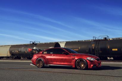 Савини-кованые sv64svl-медно-внушительно наматывается мраморным красно-BMW-m4-3.jpg
