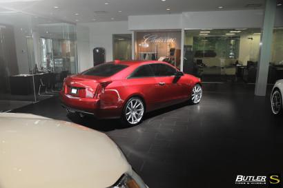 Савини-колеса-черный-ди-Forza-bm12-щеткой-серебристо-бордовый-Кадиллак-ATS-butler4.jpg