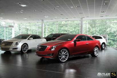 Савини-колеса-черный-ди-Forza-bm12-щеткой-серебристо-бордовый-Кадиллак-ATS-butler5.jpg