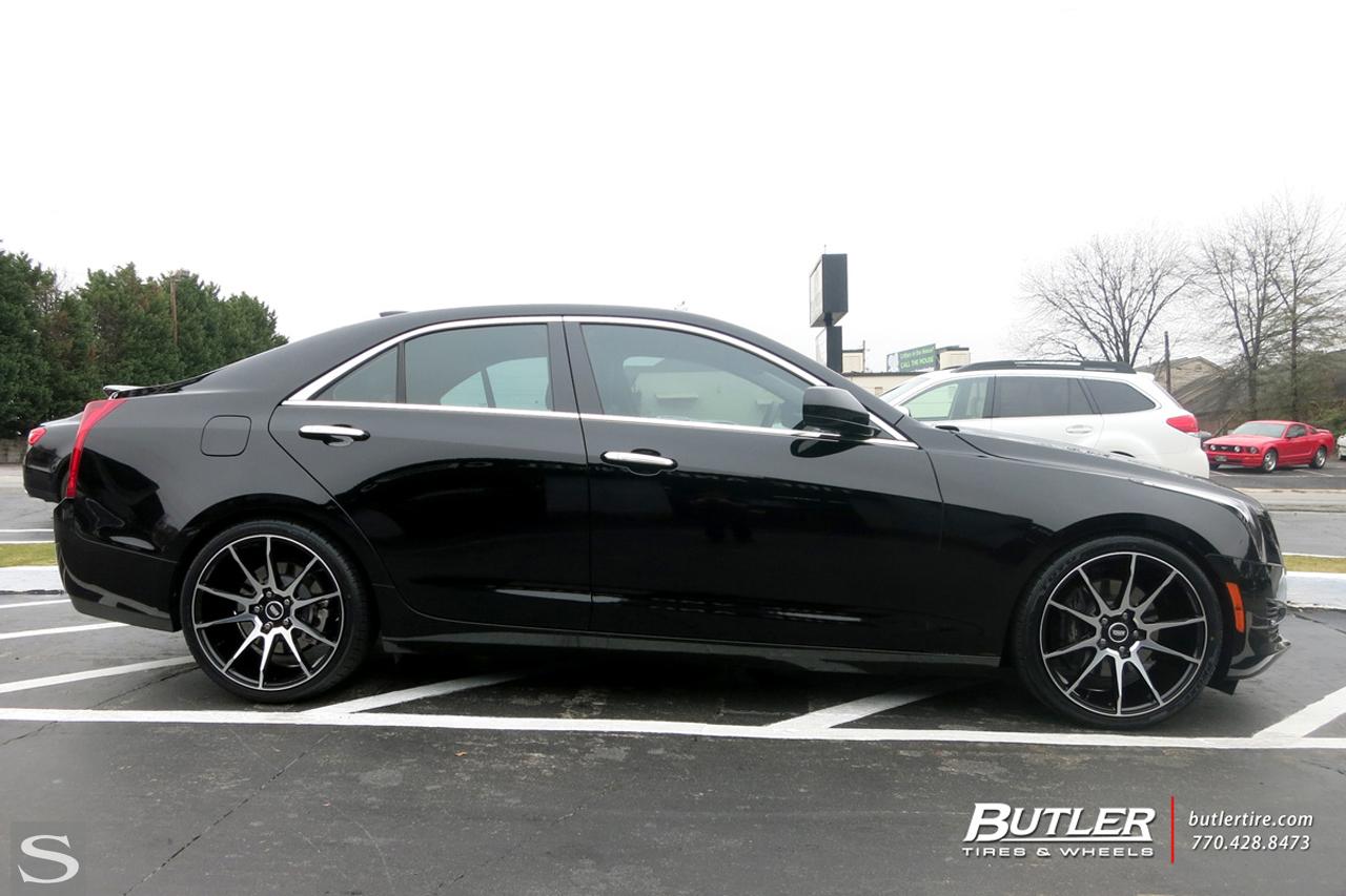 Cadillac Ats Savini Wheels