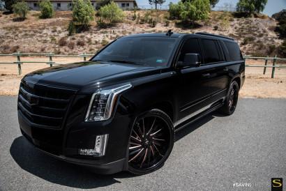 Савини-кованые-SV64XLT-черно-rosegold-Cadillac Escalade-8.jpg-