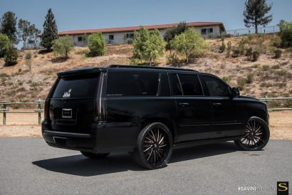 Савини-кованые-SV64XLT-черно-rosegold-Cadillac Escalade-9.jpg-