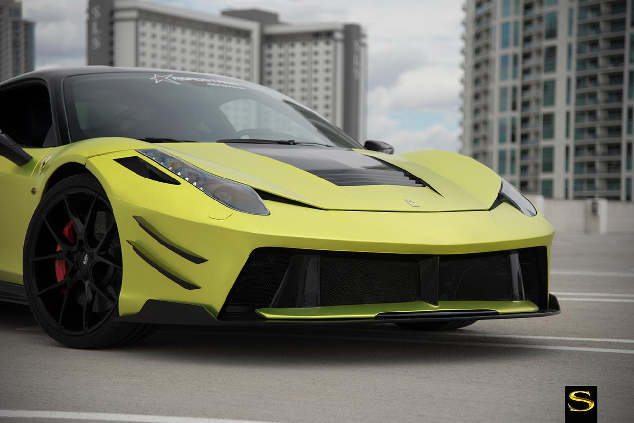 2017 Ferrari 458 >> Black di Forza | BM14 | Savini Wheels