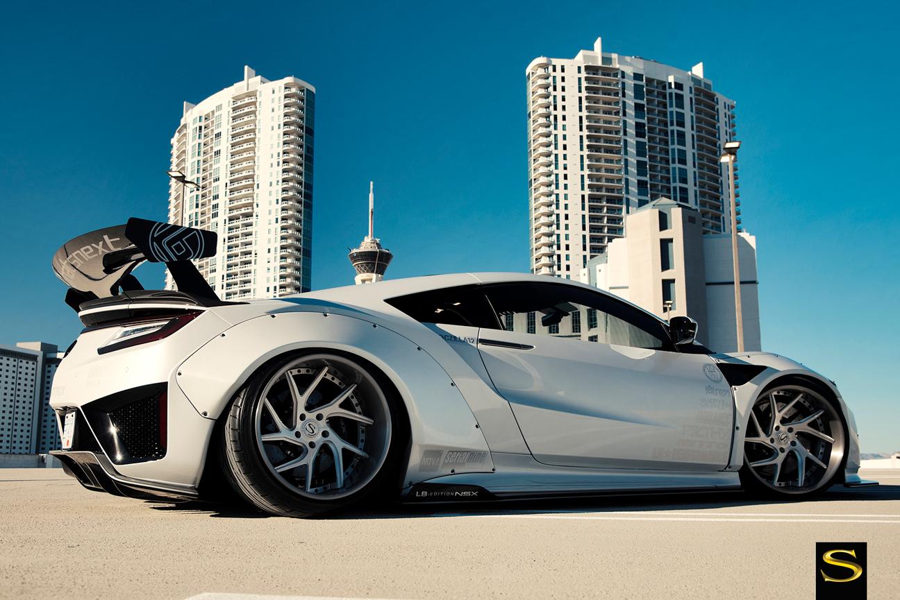 Doczilla S Liberty Walk Acura Nsx Sv67 Xc Savini