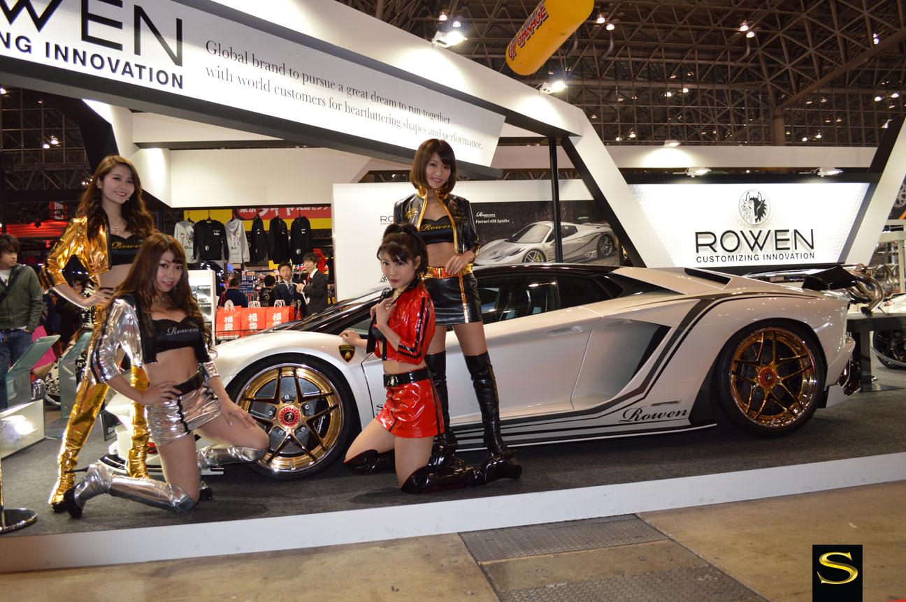 Tokyo Auto Salon Savini Wheels Savini Wheels - Tokyo car show 2018