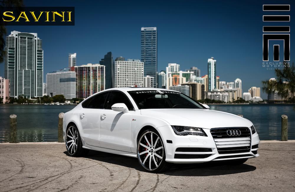 white-audi-a7-savini-wheels-sv37-c