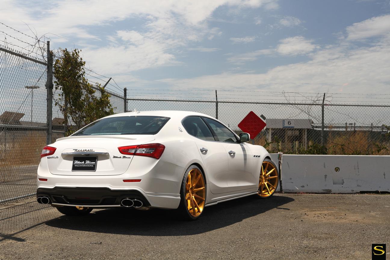 Savini Black di Forza BM12 brushed gold Maserati Ghibli (7)