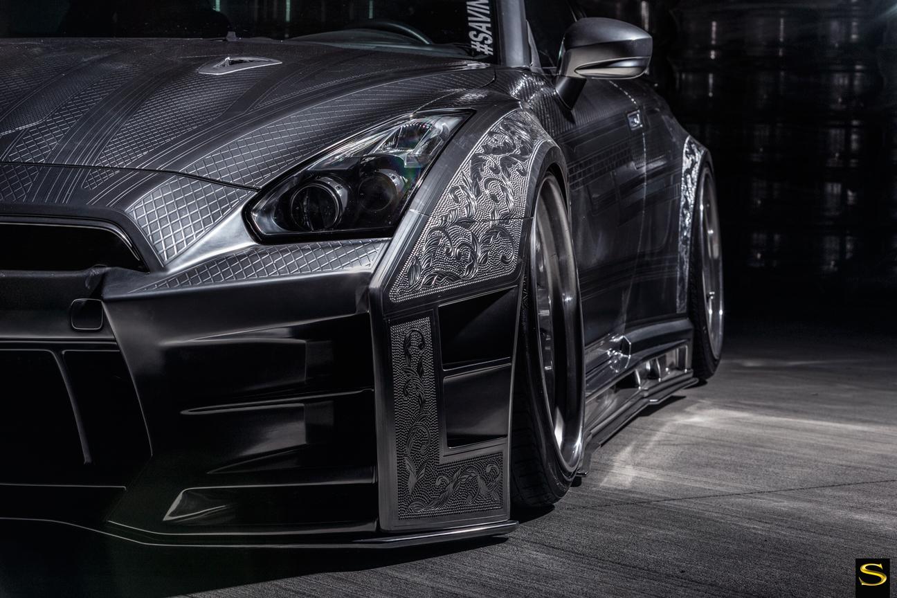 Savini-Black-di-Forza-BM9-L-brushed-with-chrome-step-lip-Kuhl-Nissan-GTR-by-V-(4)