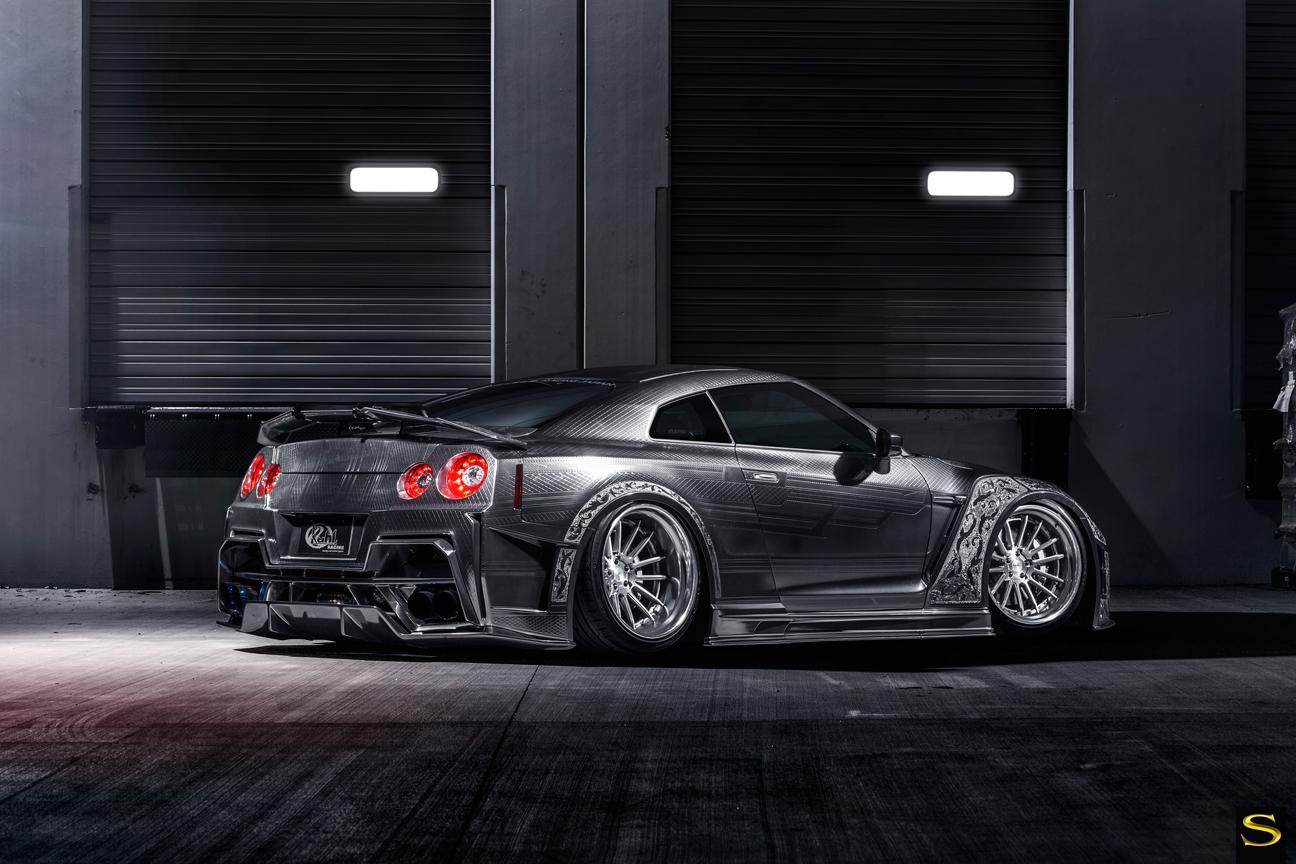 Savini-Black-di-Forza-BM9-L-brushed-with-chrome-step-lip-Kuhl-Nissan-GTR-by-V-(7)