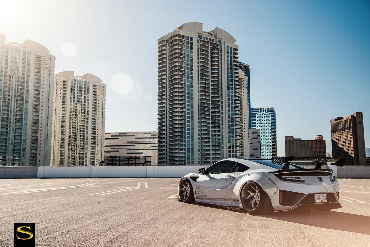 DocZilla's Liberty Walk Acura NSX | SV67-XC | Savini Wheels