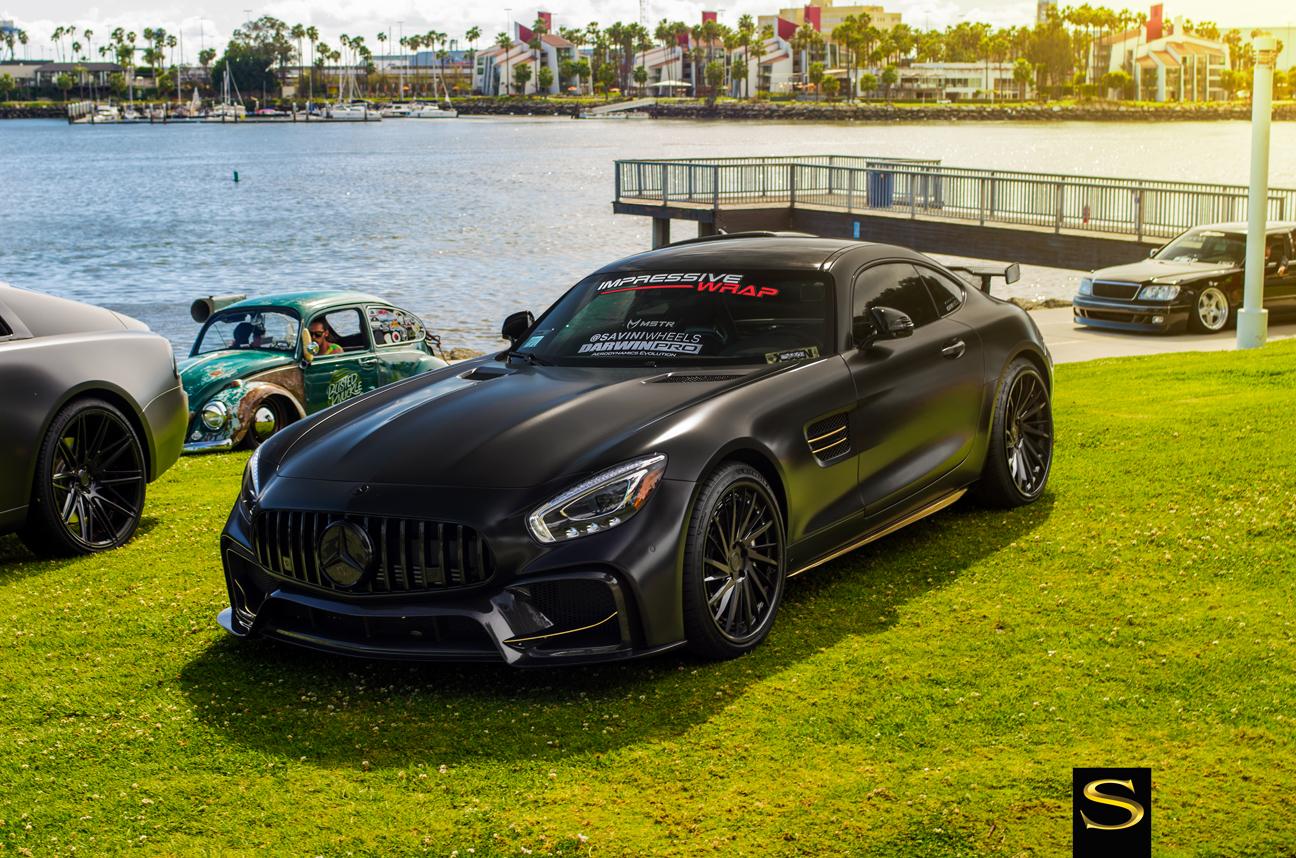 XS Car Night Long Beach 2018 | Колеса Савини